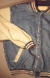 Denim w/ Twill Jacket